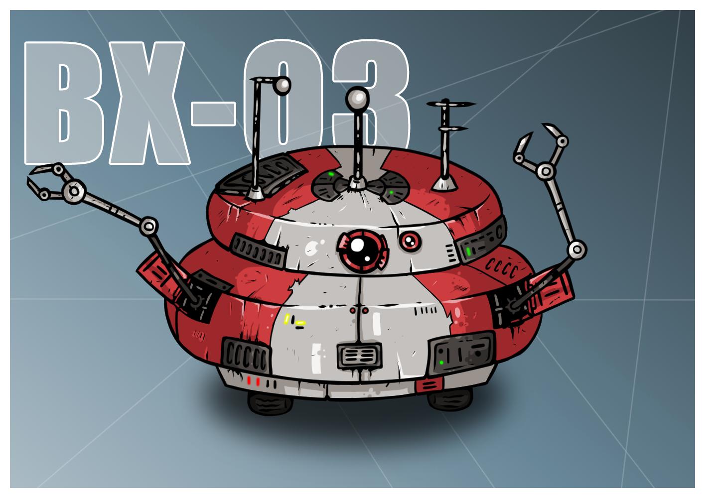 Star Wars Droid BX-Q3