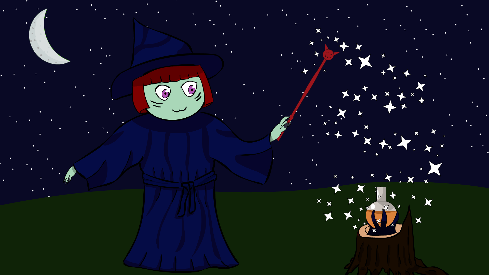 Little witch Beatrice