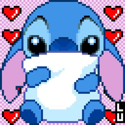 Stich Pixel Art By Lucas (me!)