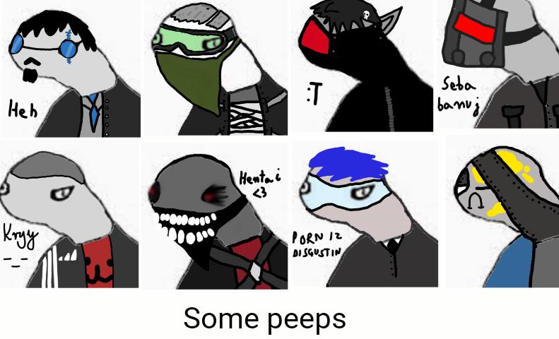 Some dolanized peeps