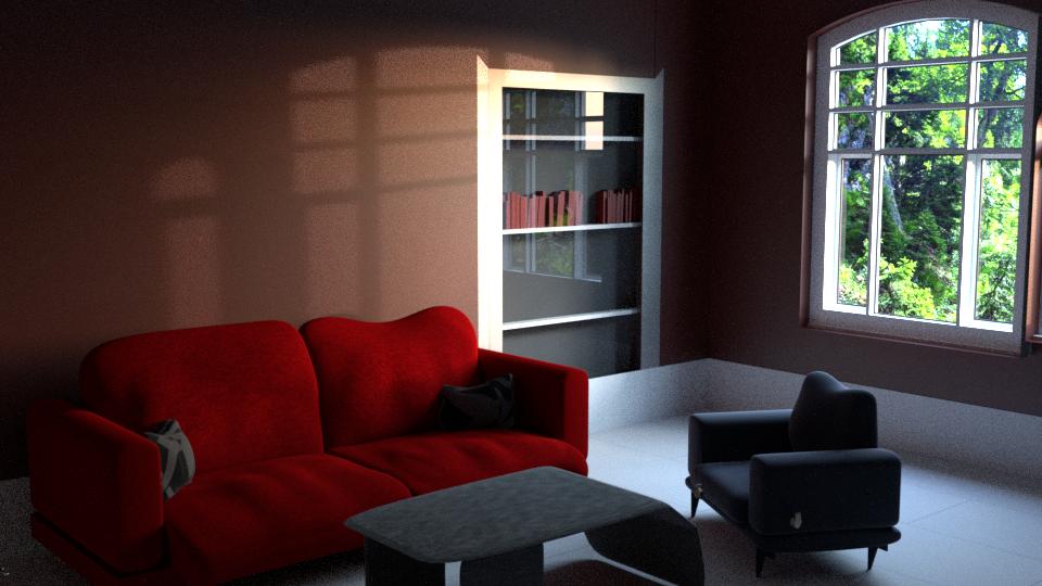 3D Interior design idea.