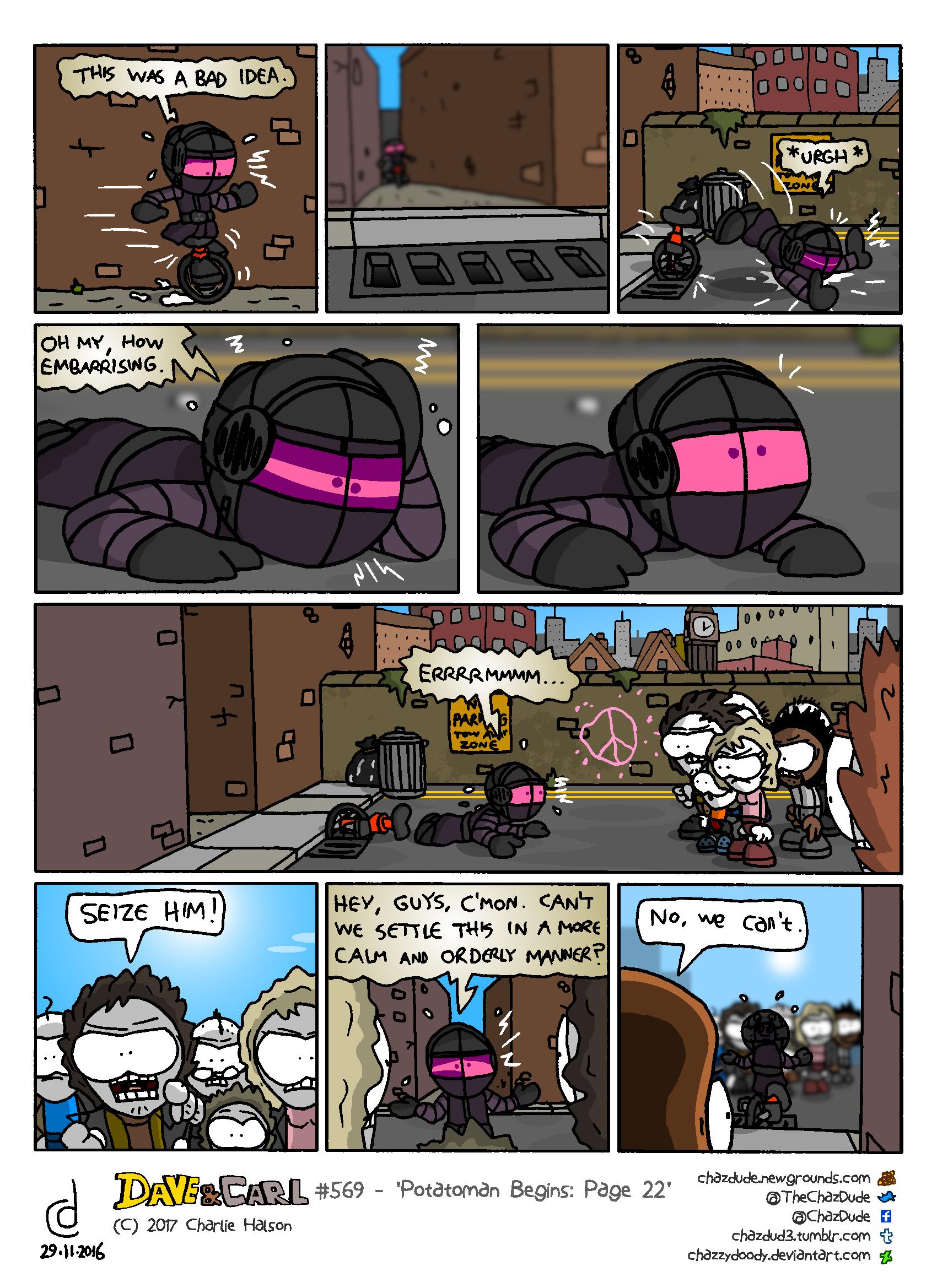 Potatoman Begins: Page 22