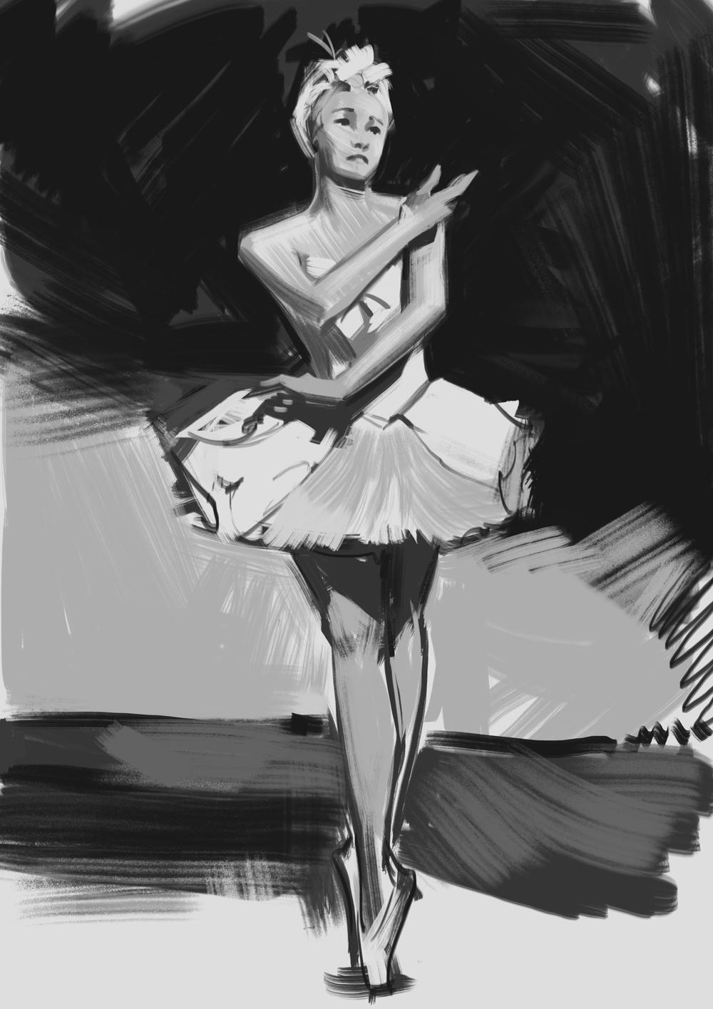 balerin sketch