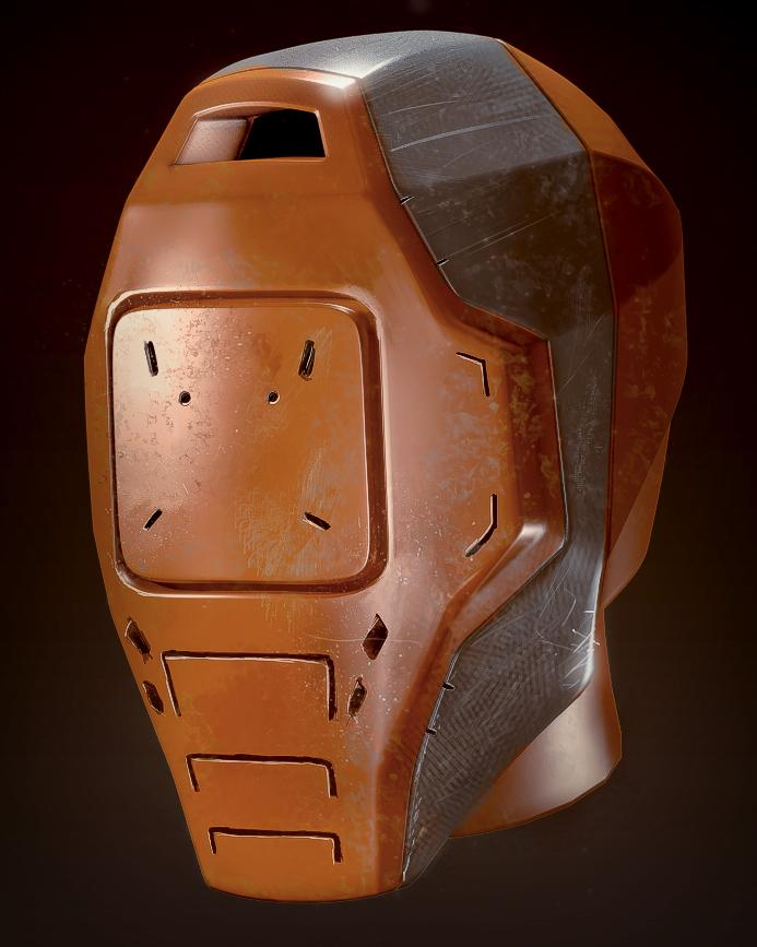 robot head concept art