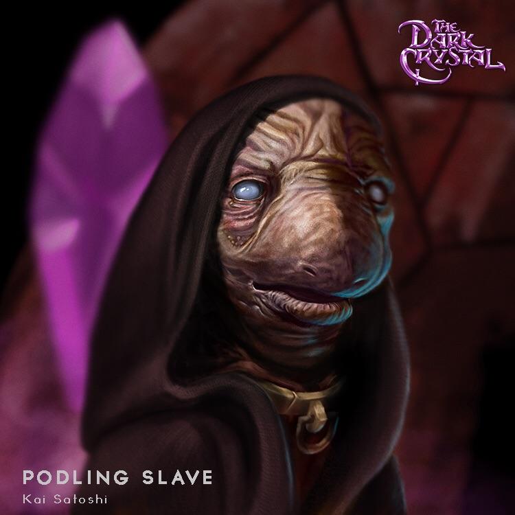 Dark Crystal Podling Slave