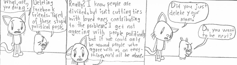 Comic Cat-Generic Political Comic