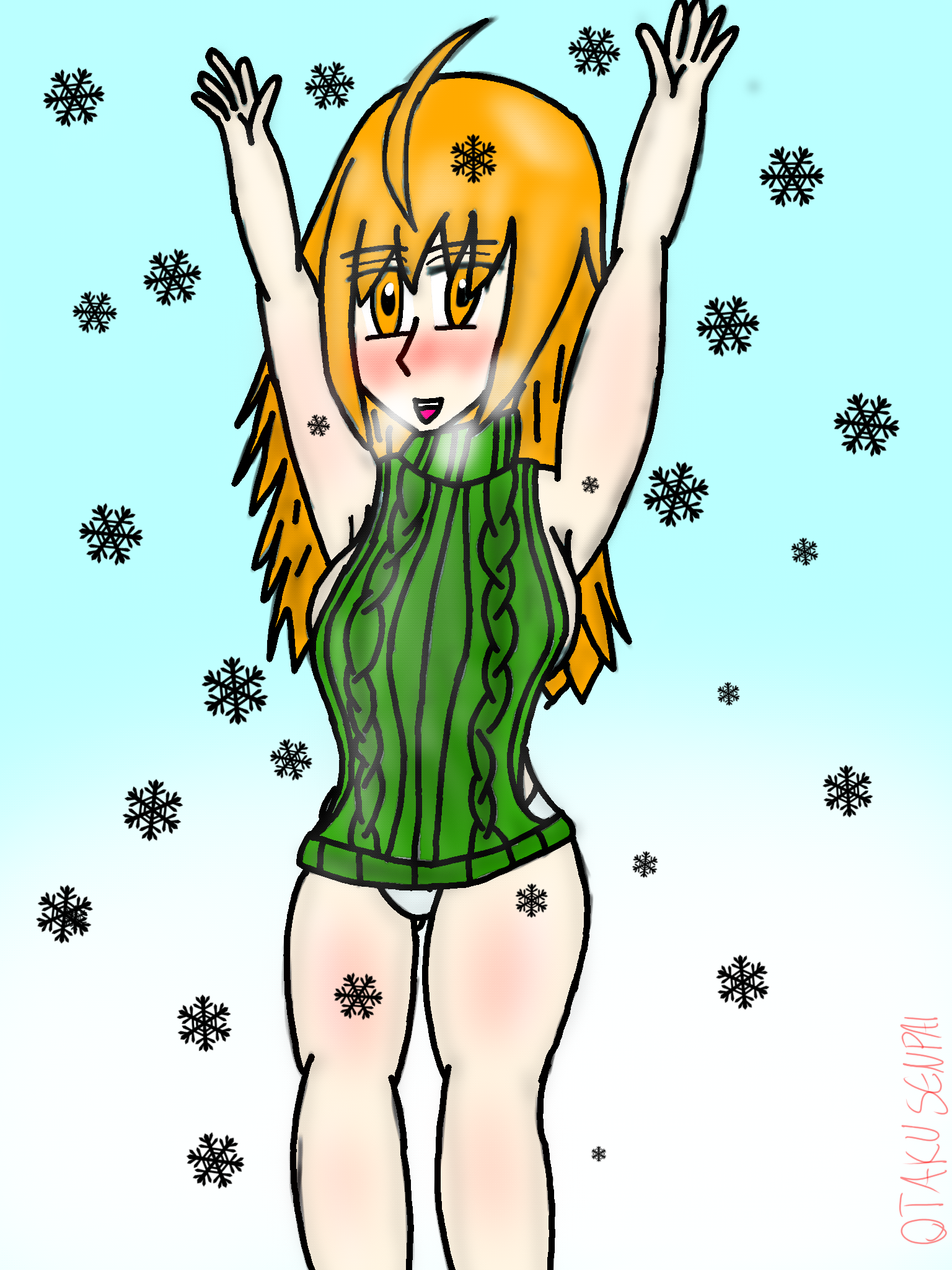 Virgin Killer Sweater Meme (IN THE SNOW)