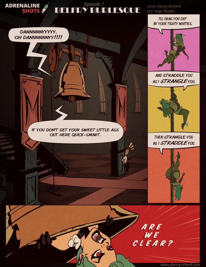 Adrenaline Shots - The Web Comic Series!