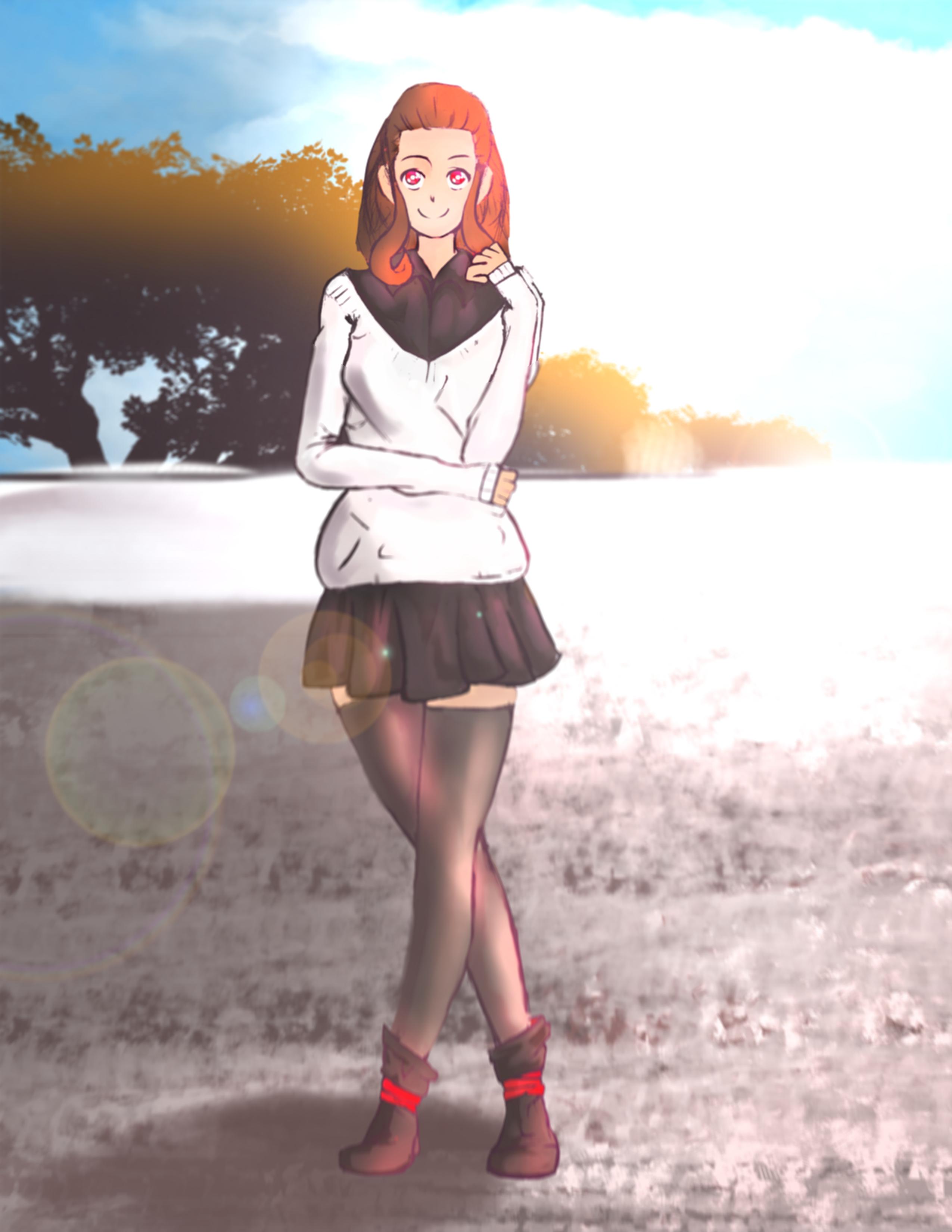 Kawaii Anime Waifu