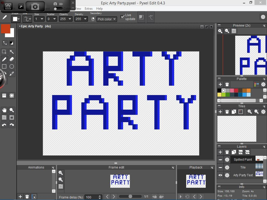 Making Epic Arty Party Part 1