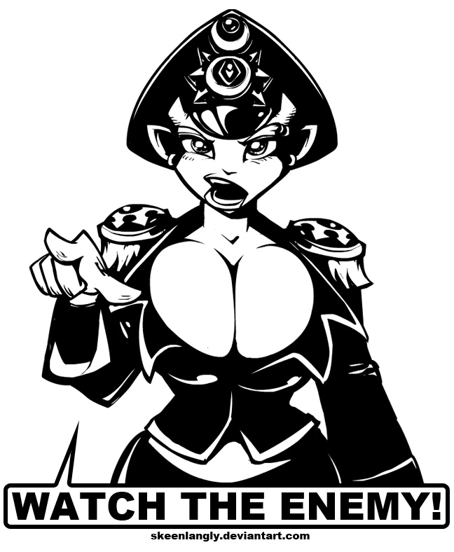watch the enemy