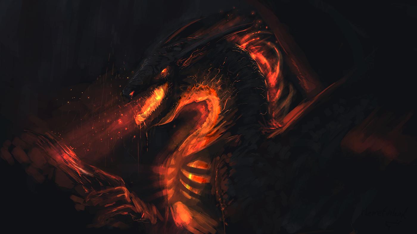 Forgemaw dragon