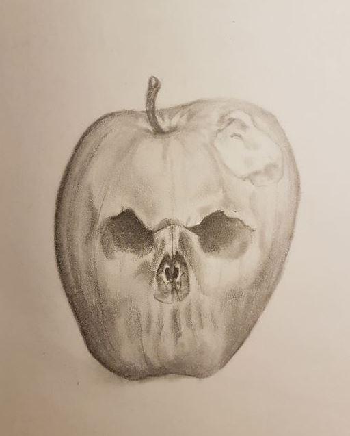 Poison apple sketch