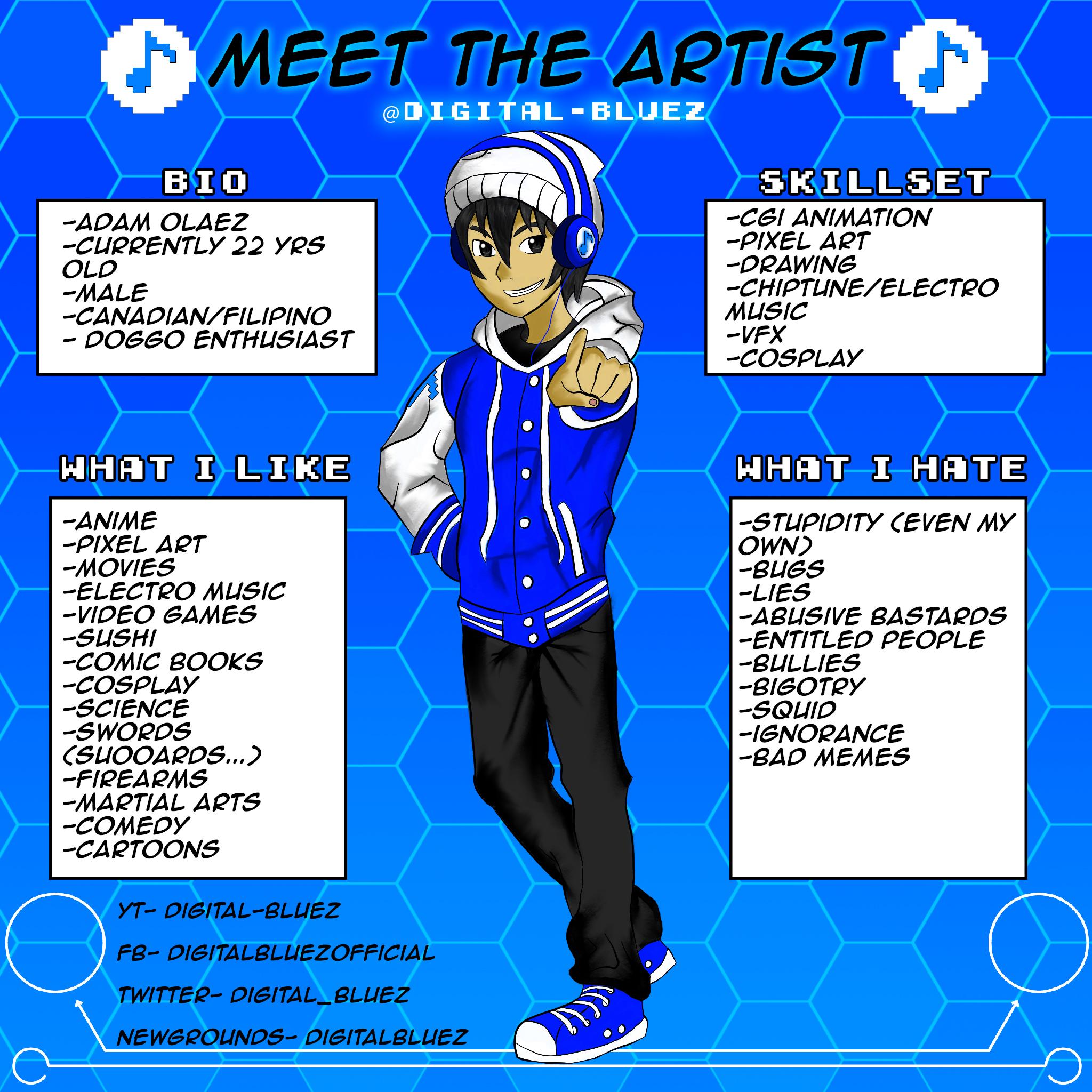 Meet the Artist: Digital-Bluez