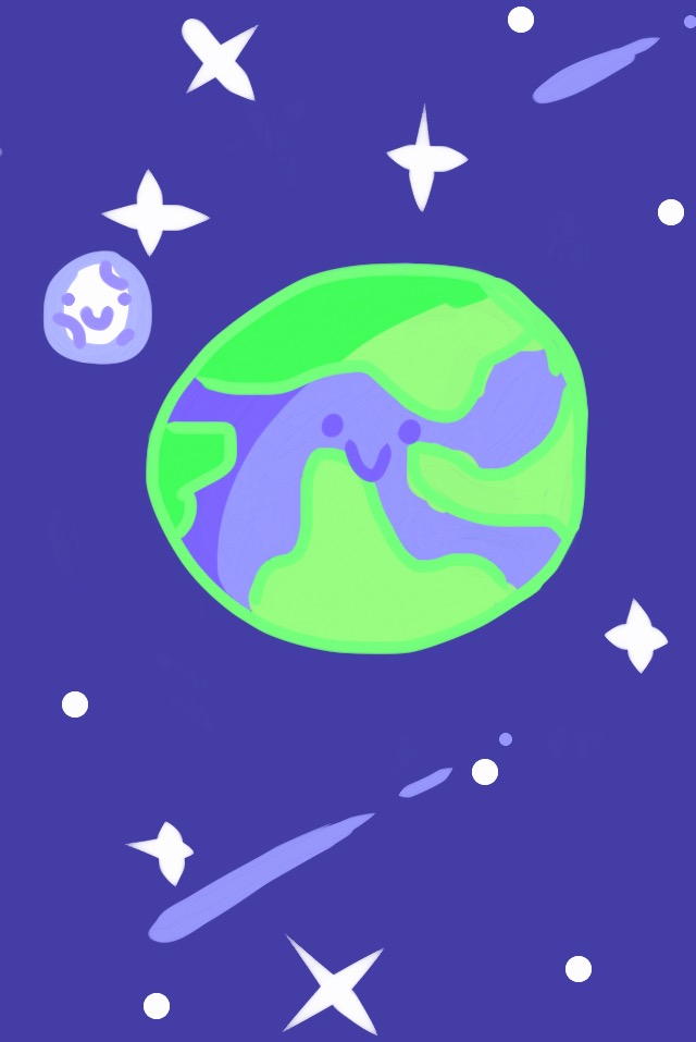 Little baby earth