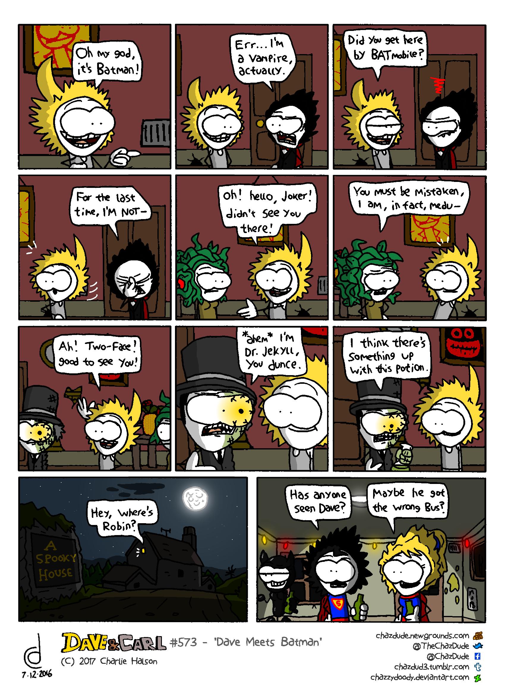 Dave Meets Batman