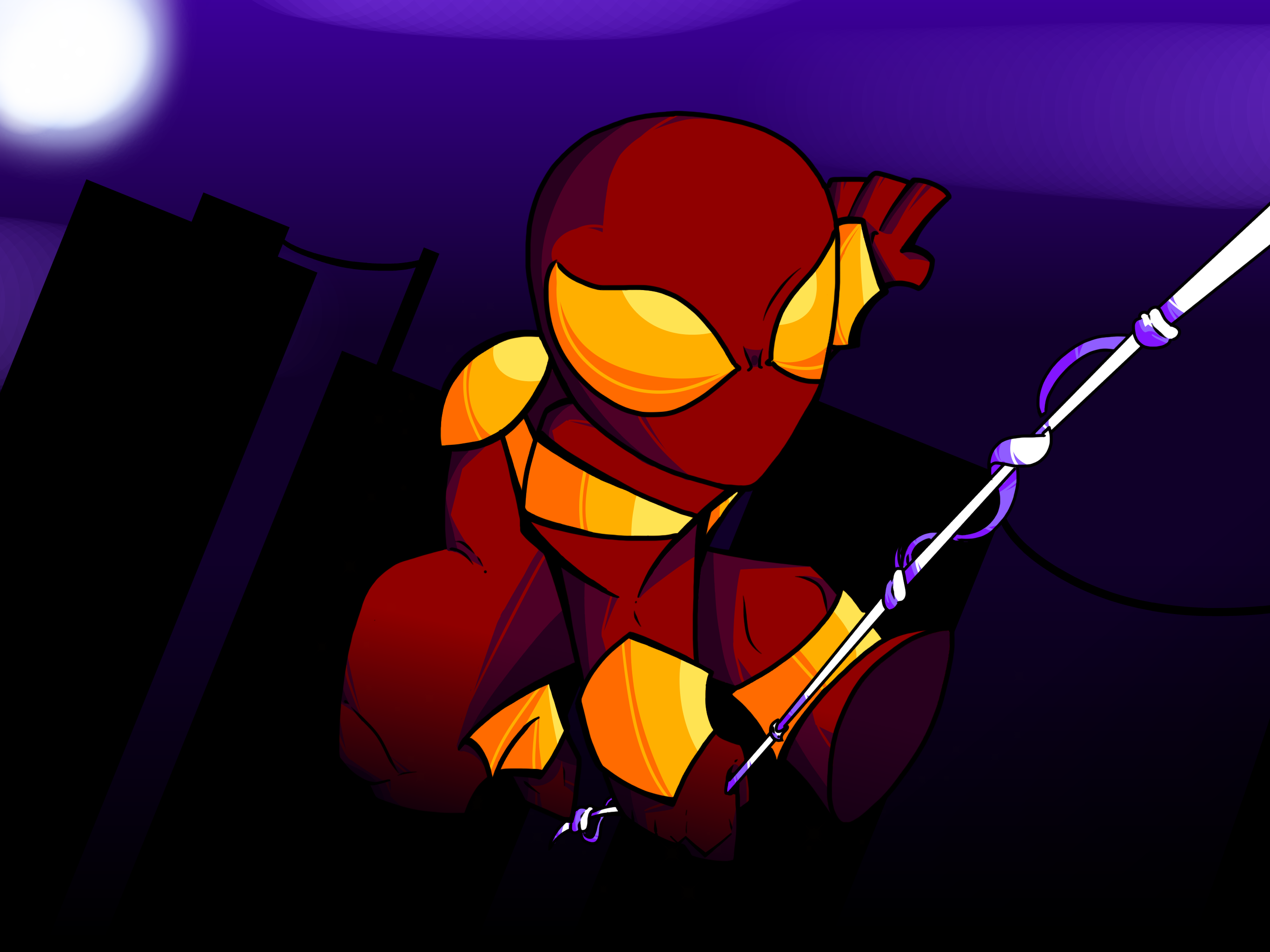 Iron spider (collab with Wafflesmash)