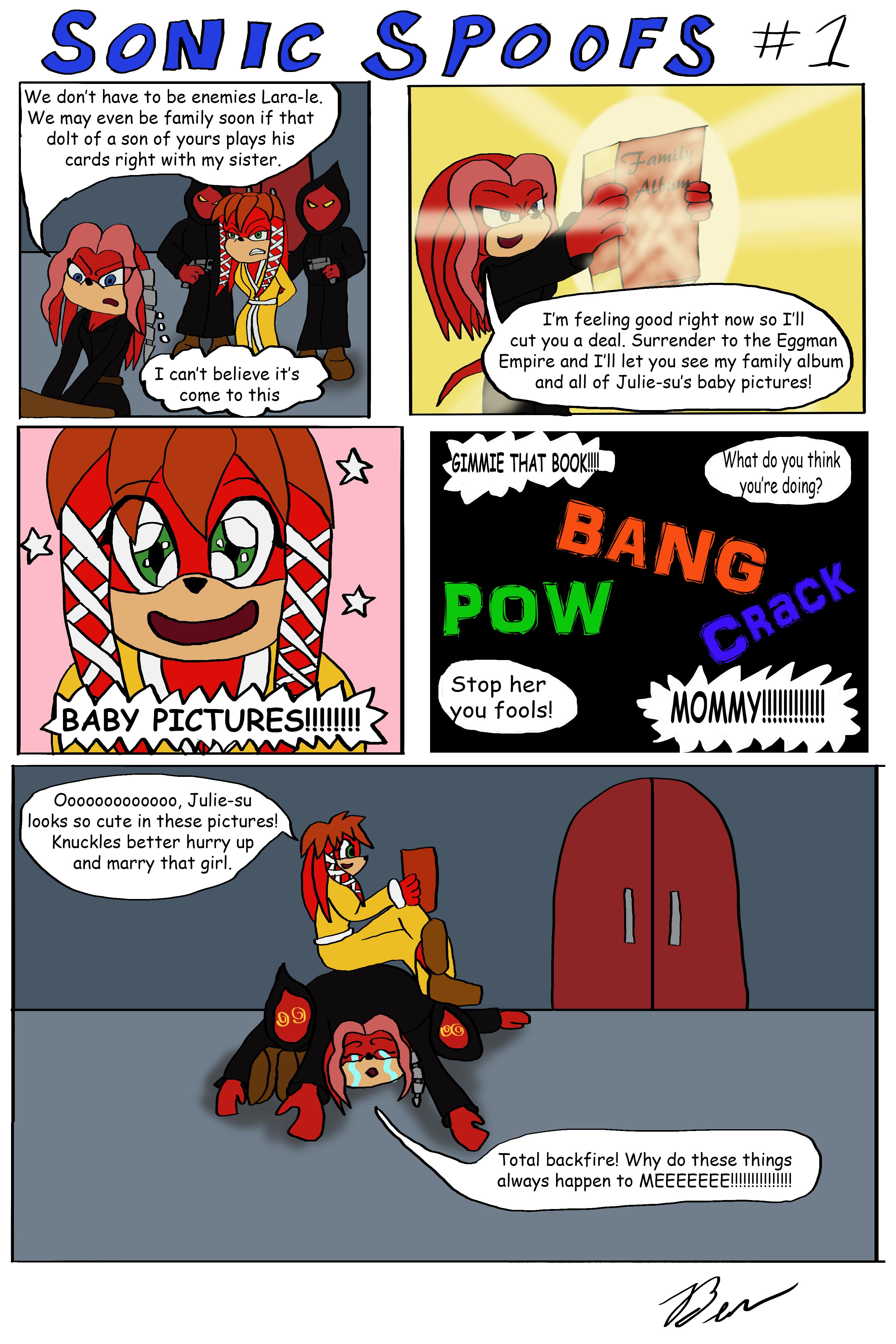 Sonic Spoofs #1