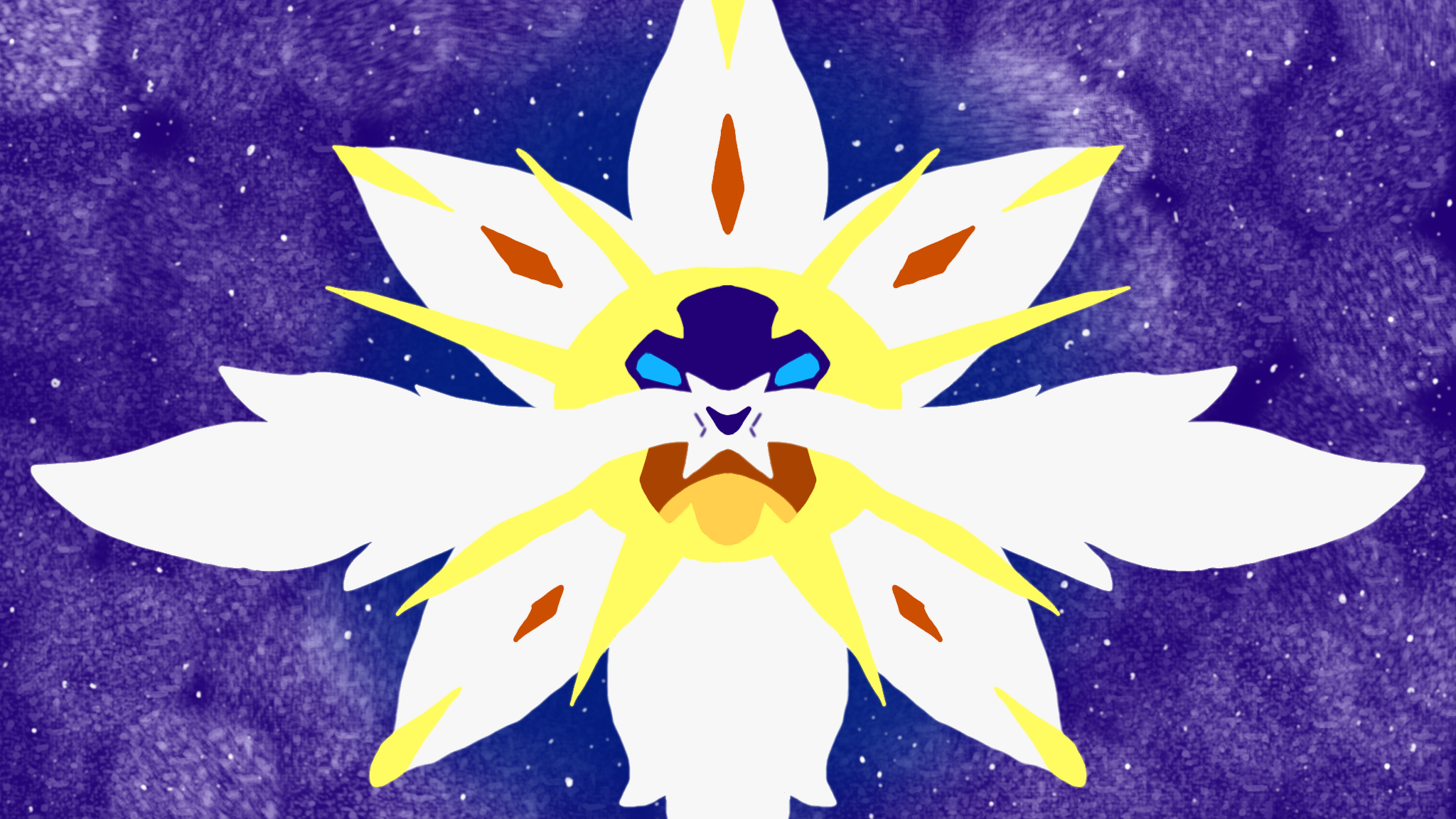 Solgaleo Background