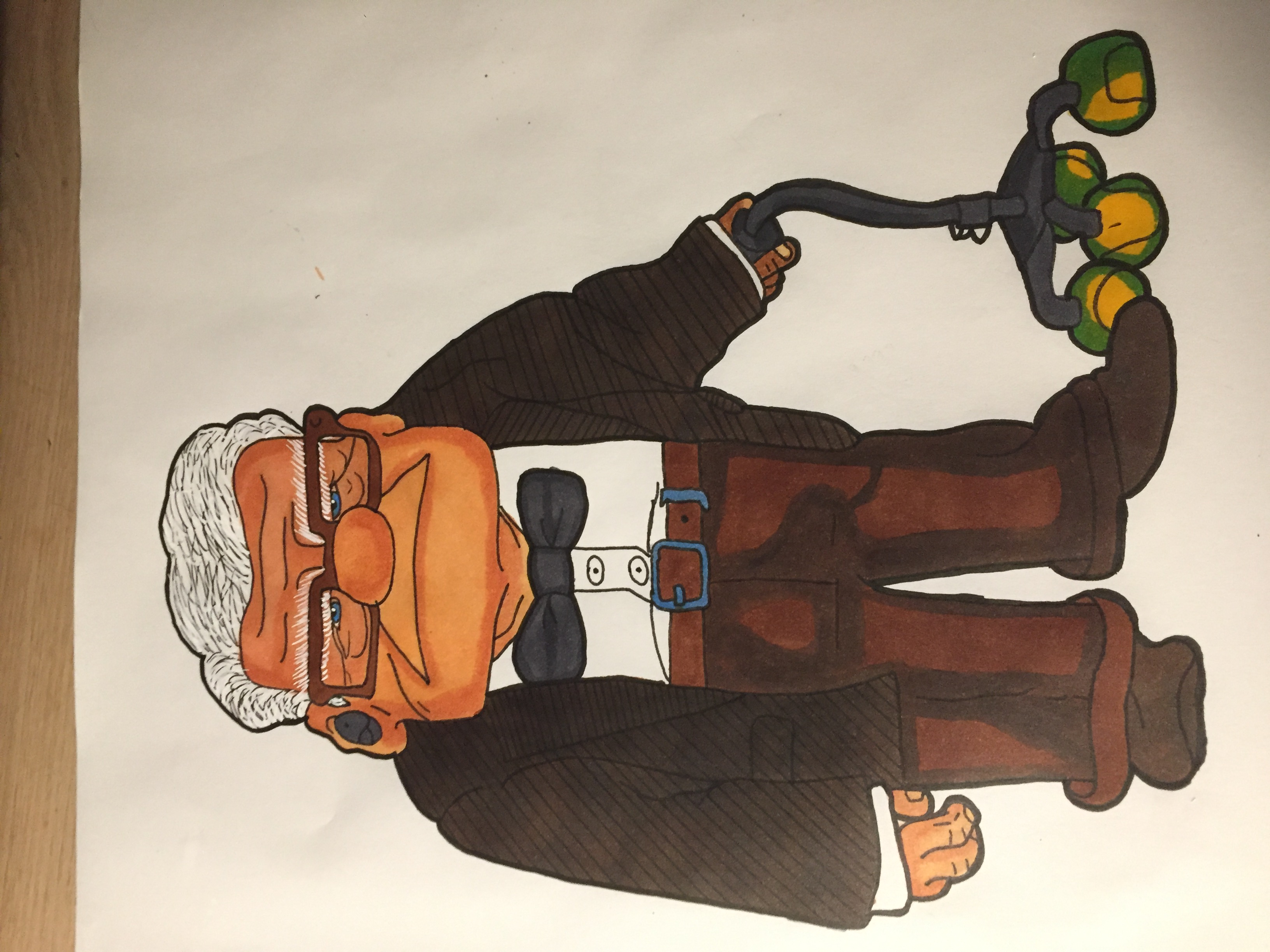 Carl F. from UP.
