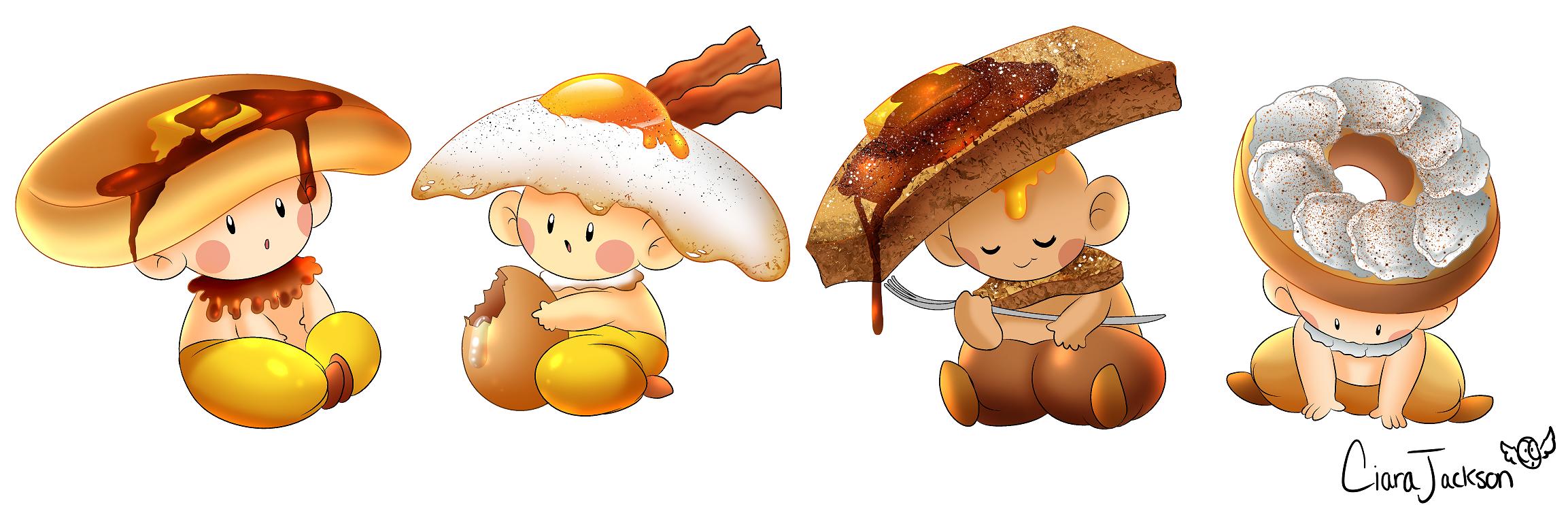 Breakfast Mushroom Kids!