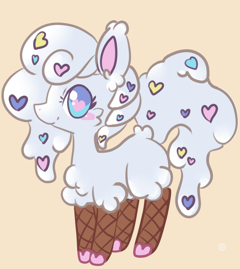 Ice cream pony