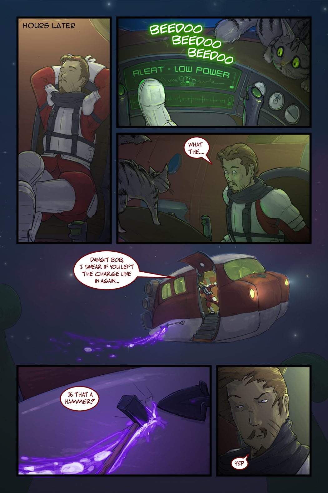 The Crimson Thief: Page 7