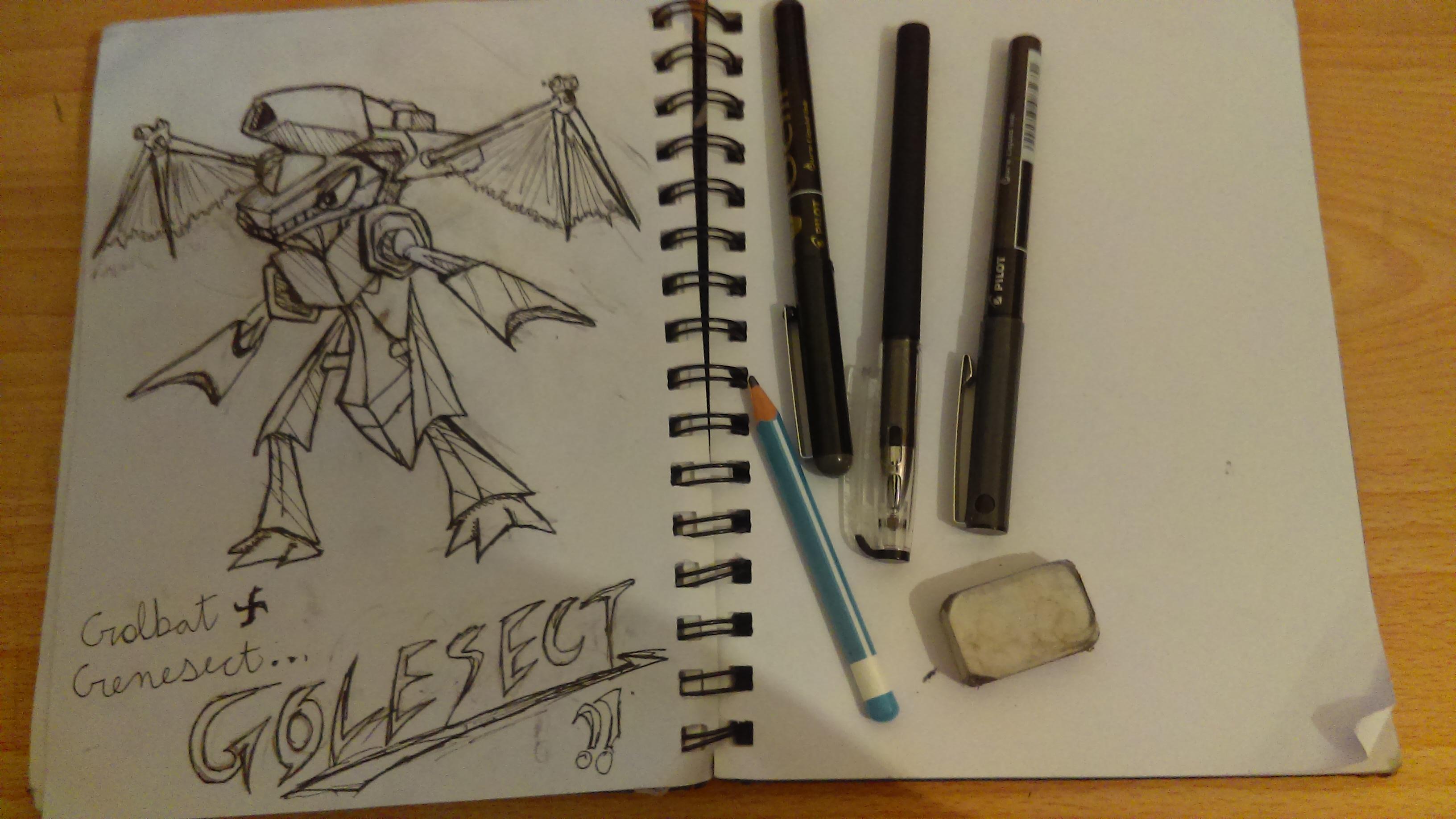 Golesect!!- Pokemon fusion