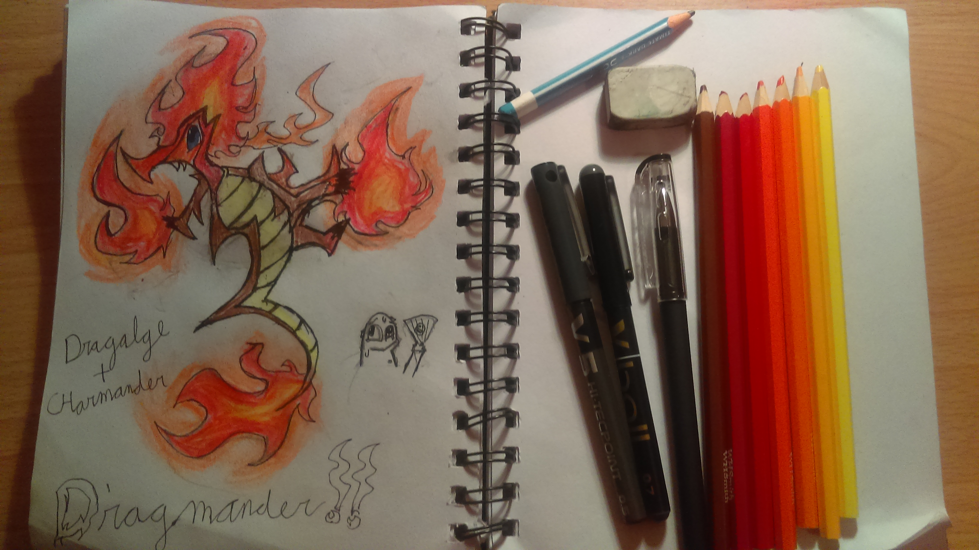 Dragmander!!- Pokemon fusion
