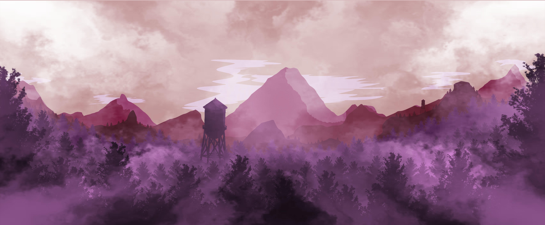/ Landscape Illustration 3 // Despair /