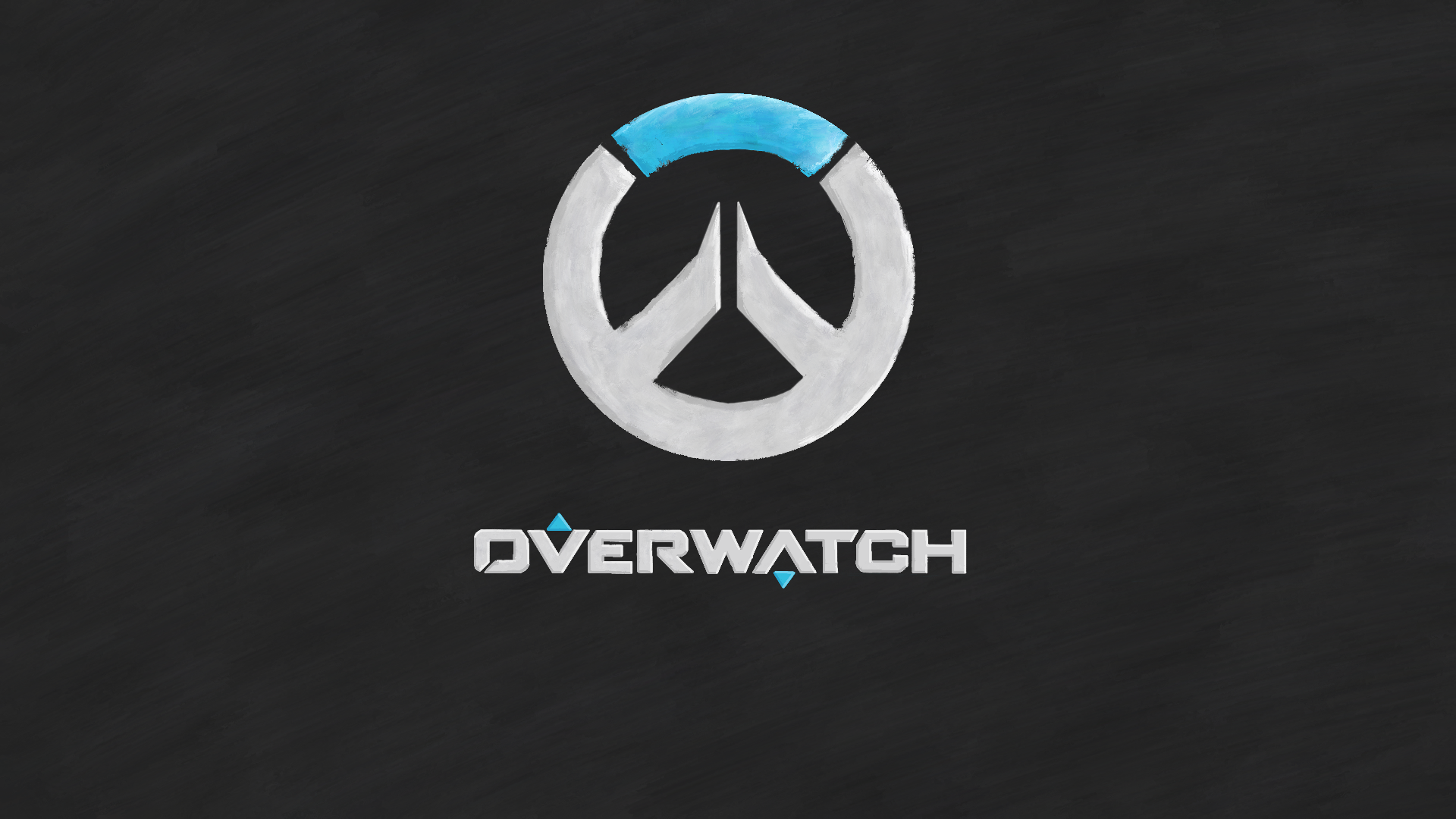 Blue Overwatch Wallpaper