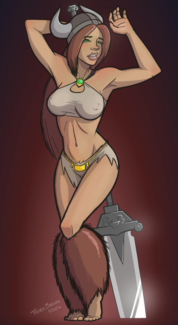Vikings of the Interstate Pin-up