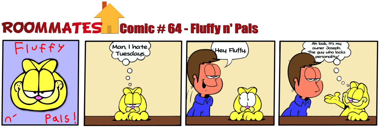 Roommates - Fluffy n' Pals (Comic #64)