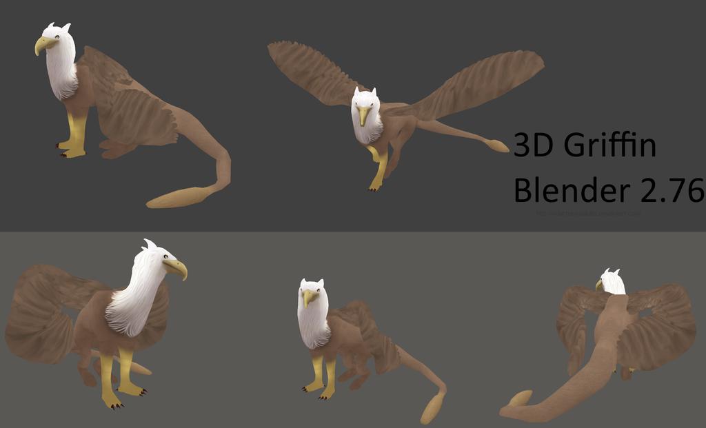 Griffin - 3D MODEL