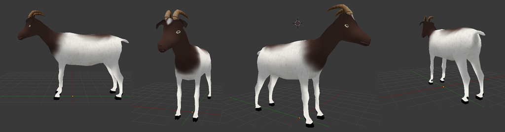 Goat - 3D MODEL