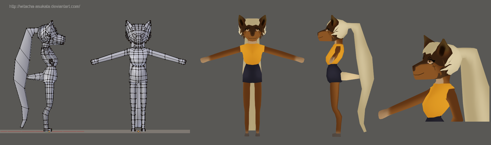 Low Poly - 3D MODEL