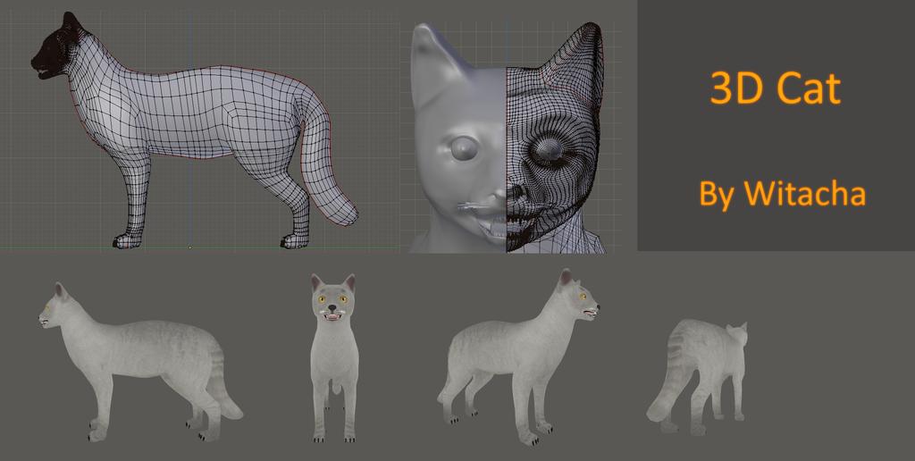 Cat - 3D MODEL