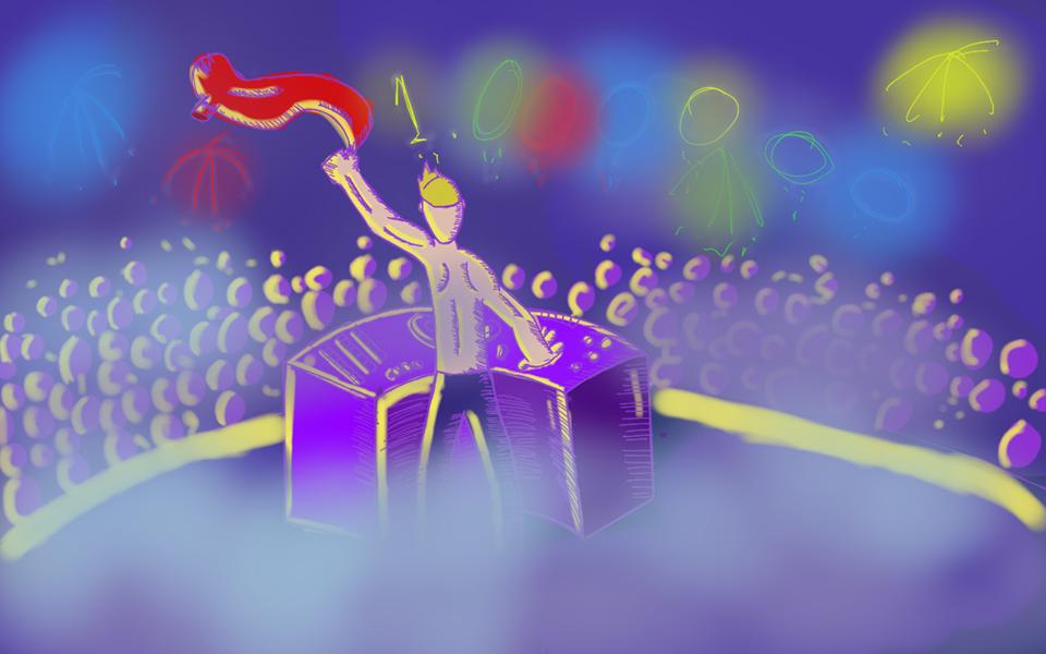 epic arty party jazza
