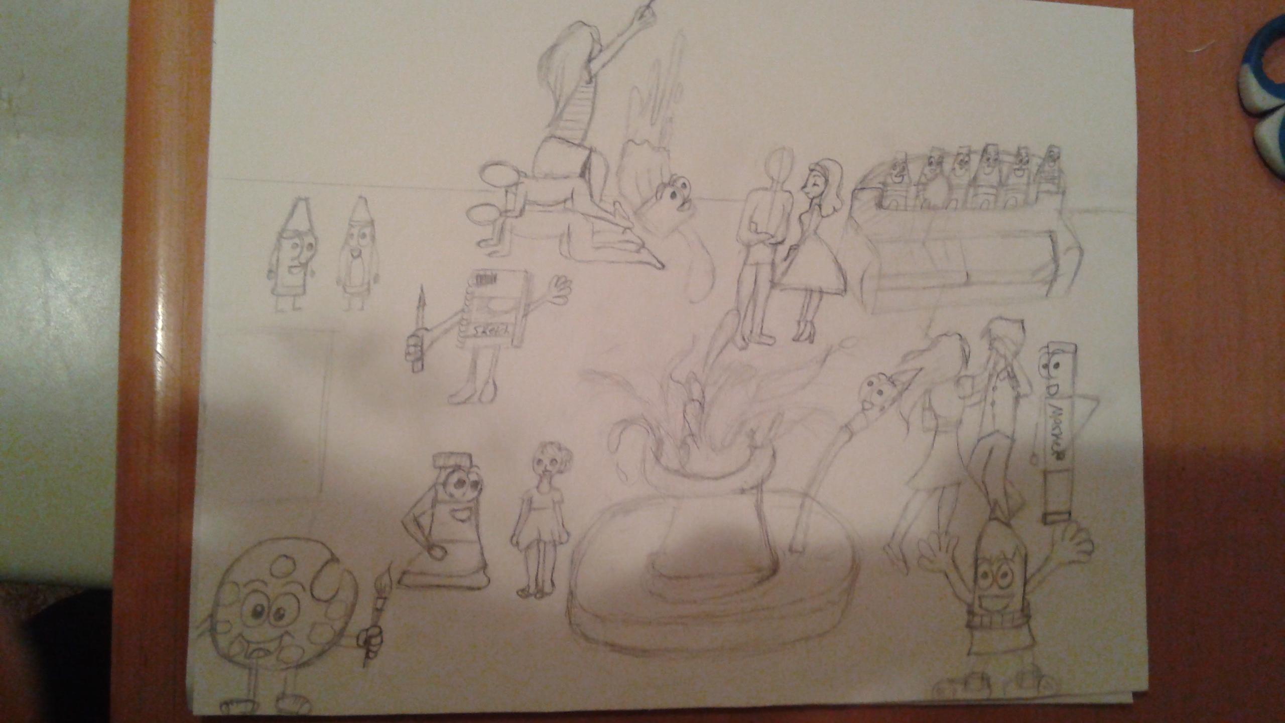 arty party progress pic 1