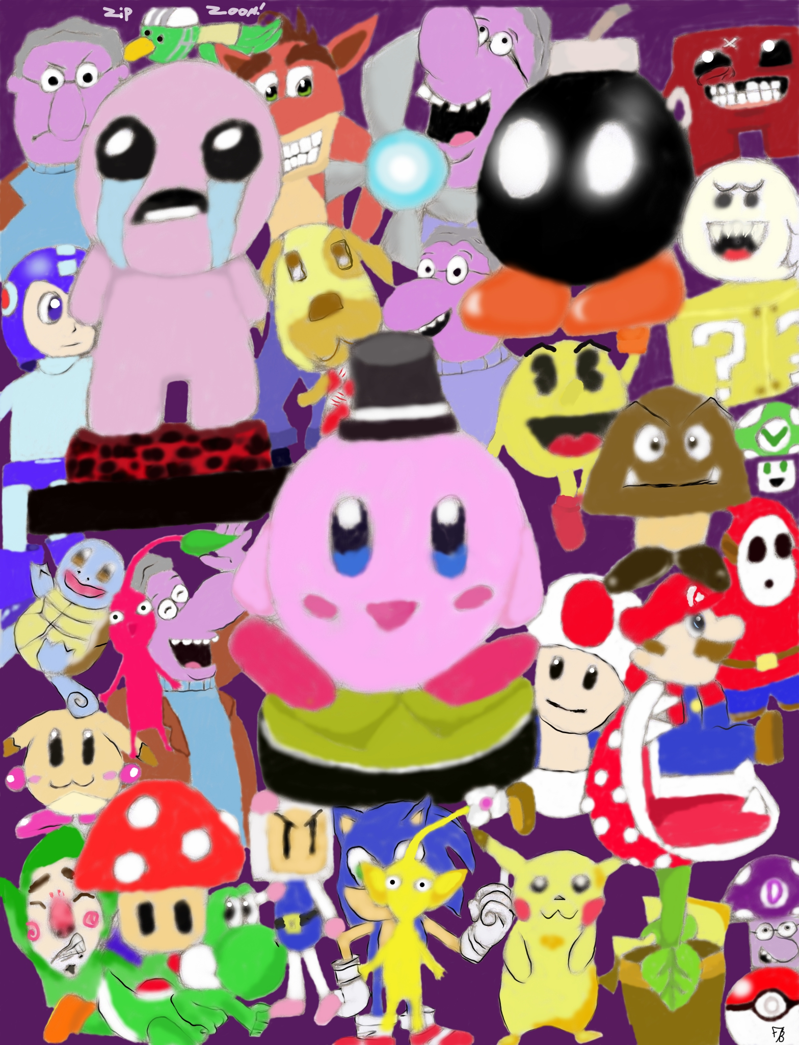 game collage