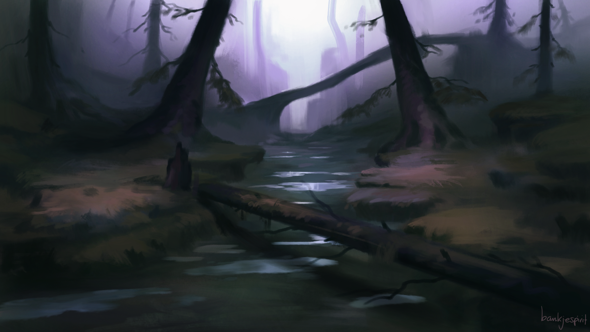 Another Forest Speedpaint
