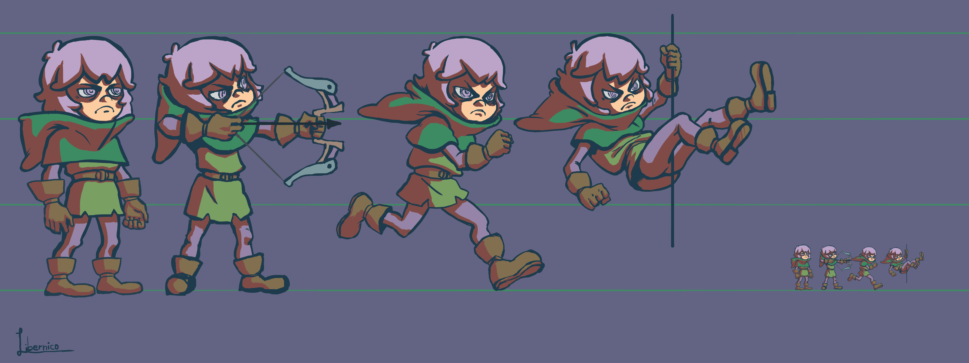 Character Concept - Sky