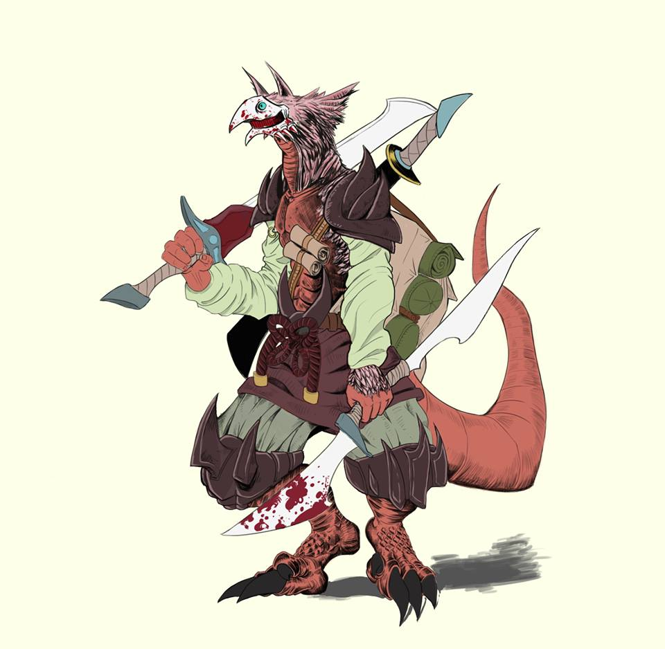 Dragon Warrior Man