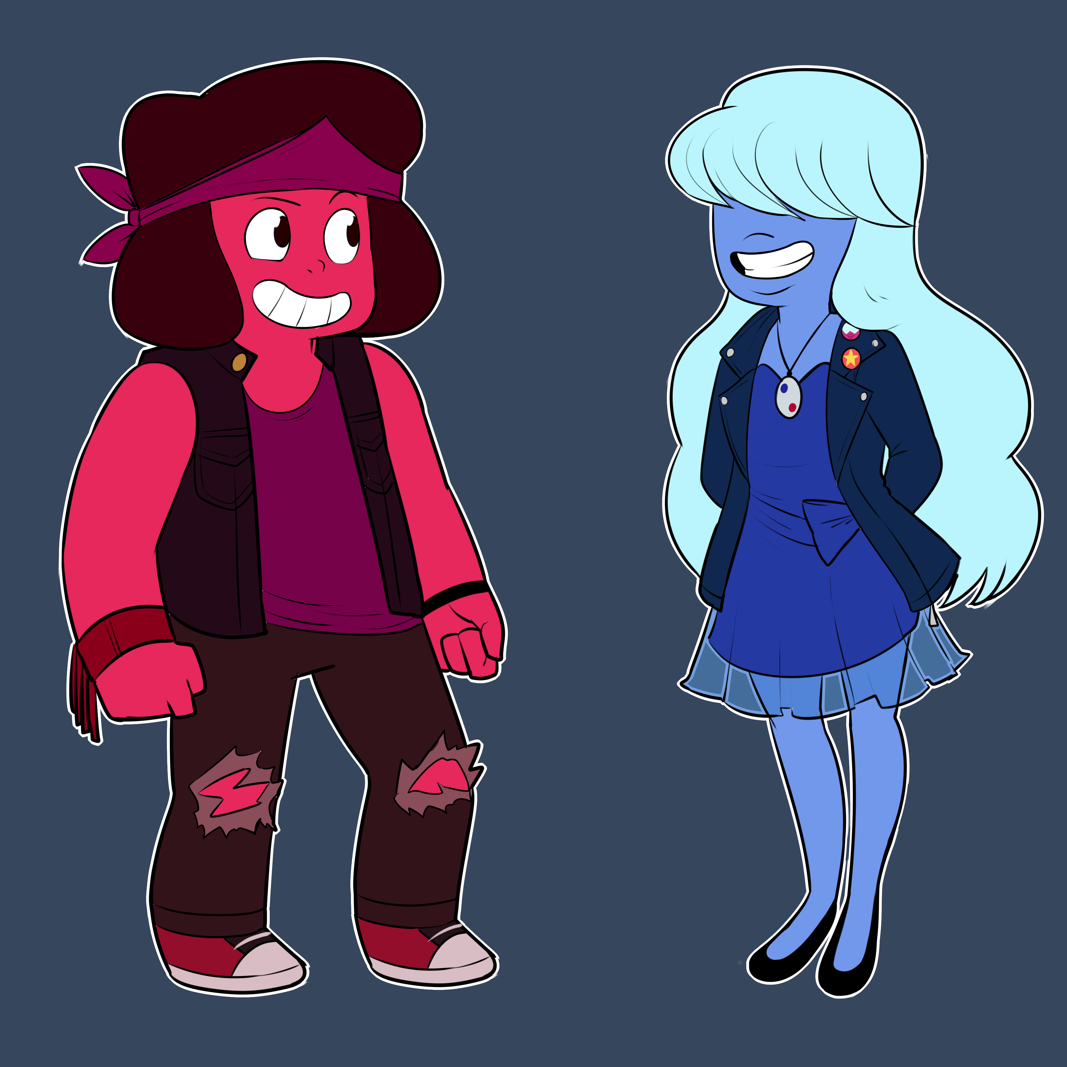 Ruby and Sapphire (Alternate)