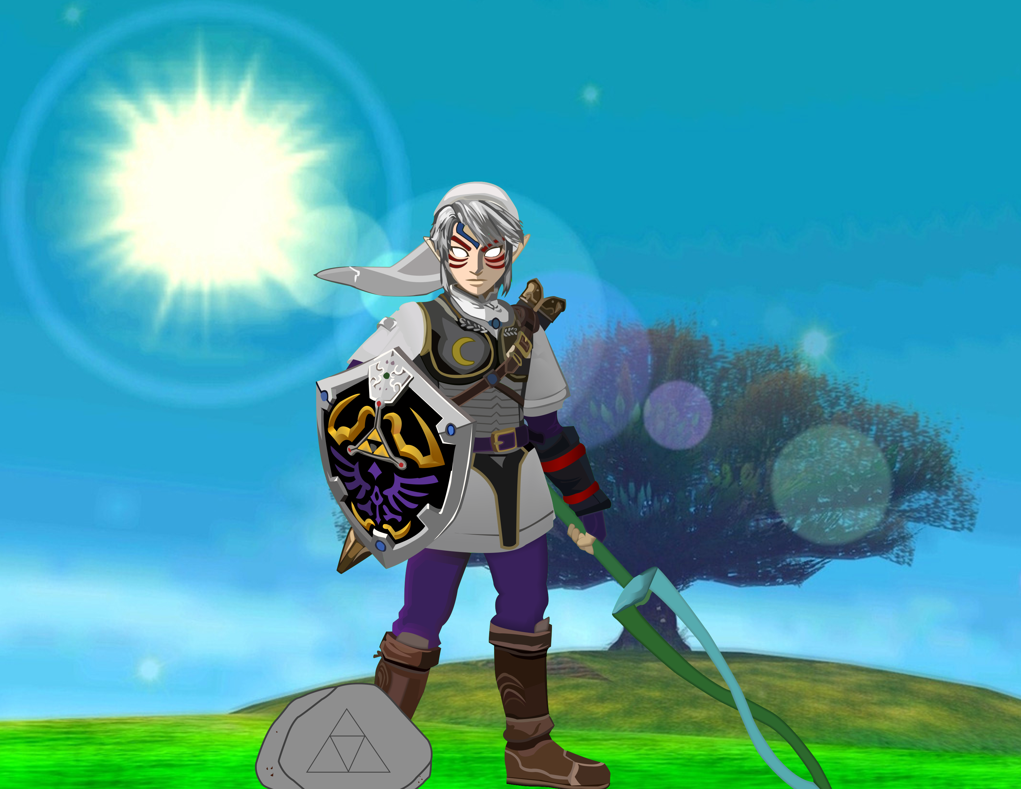 Commission: Fierce Deity Link