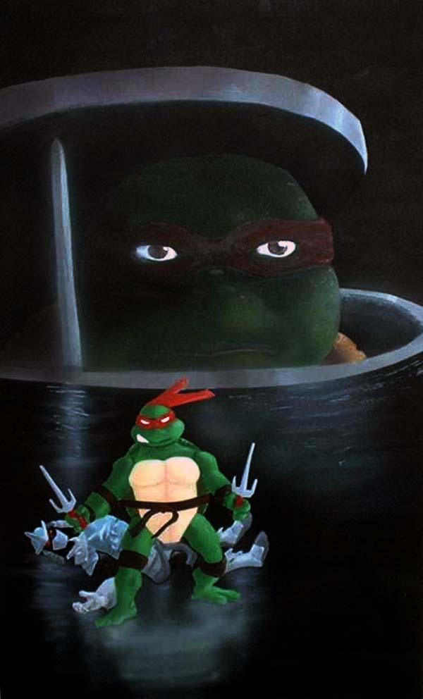 Ninja Turtle & Toy