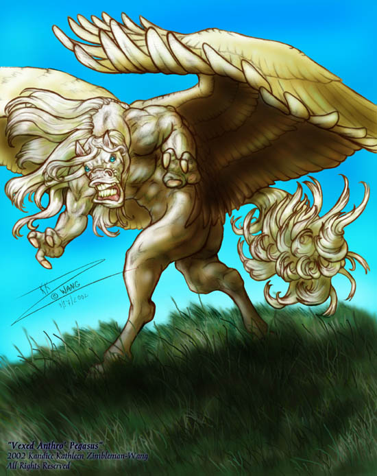 Vexed Pegasus Anthro