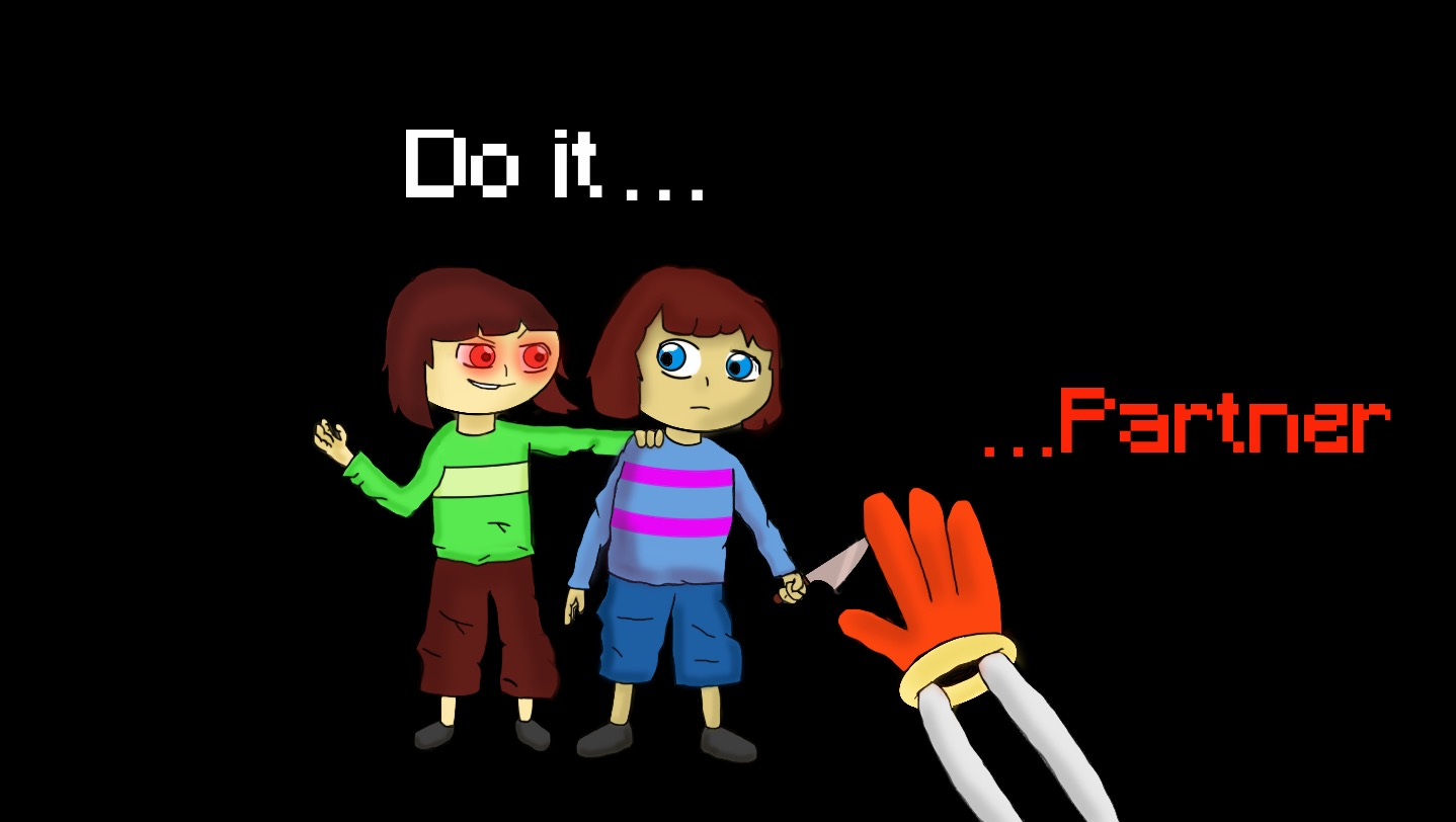 Undertale-The Temptation of Genocide