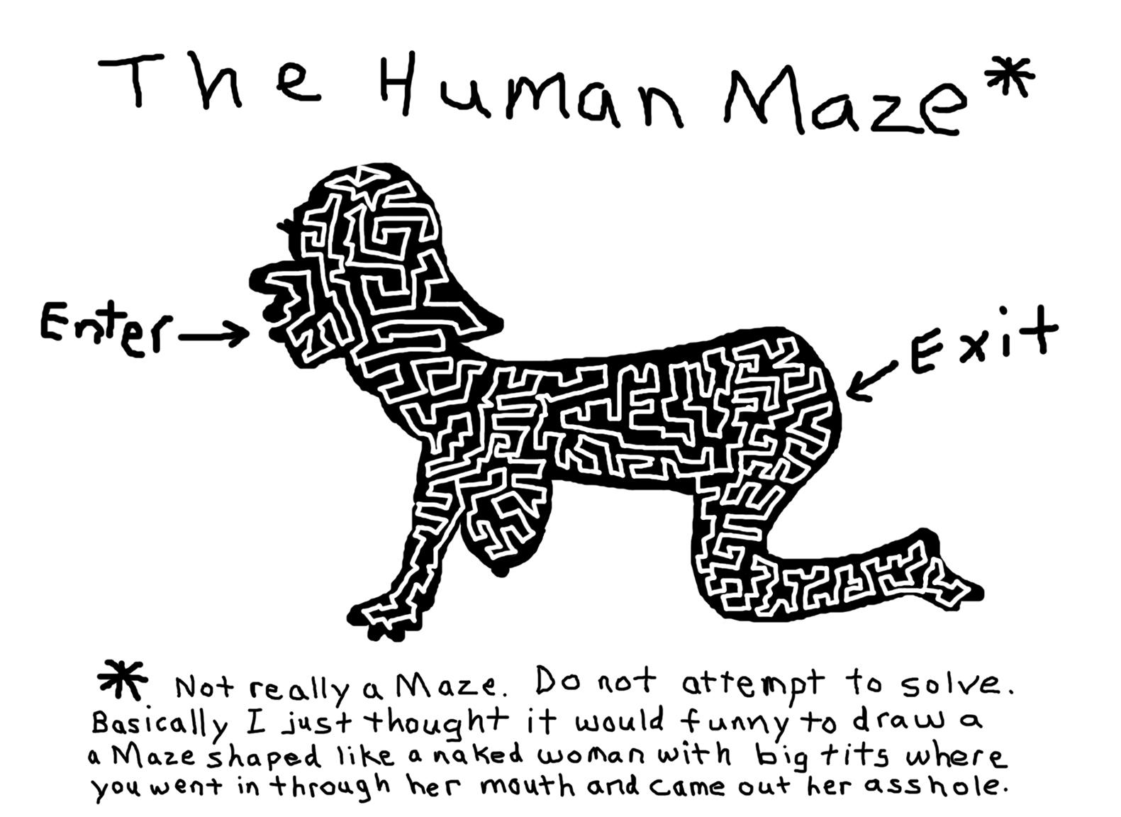 The Human Maze.