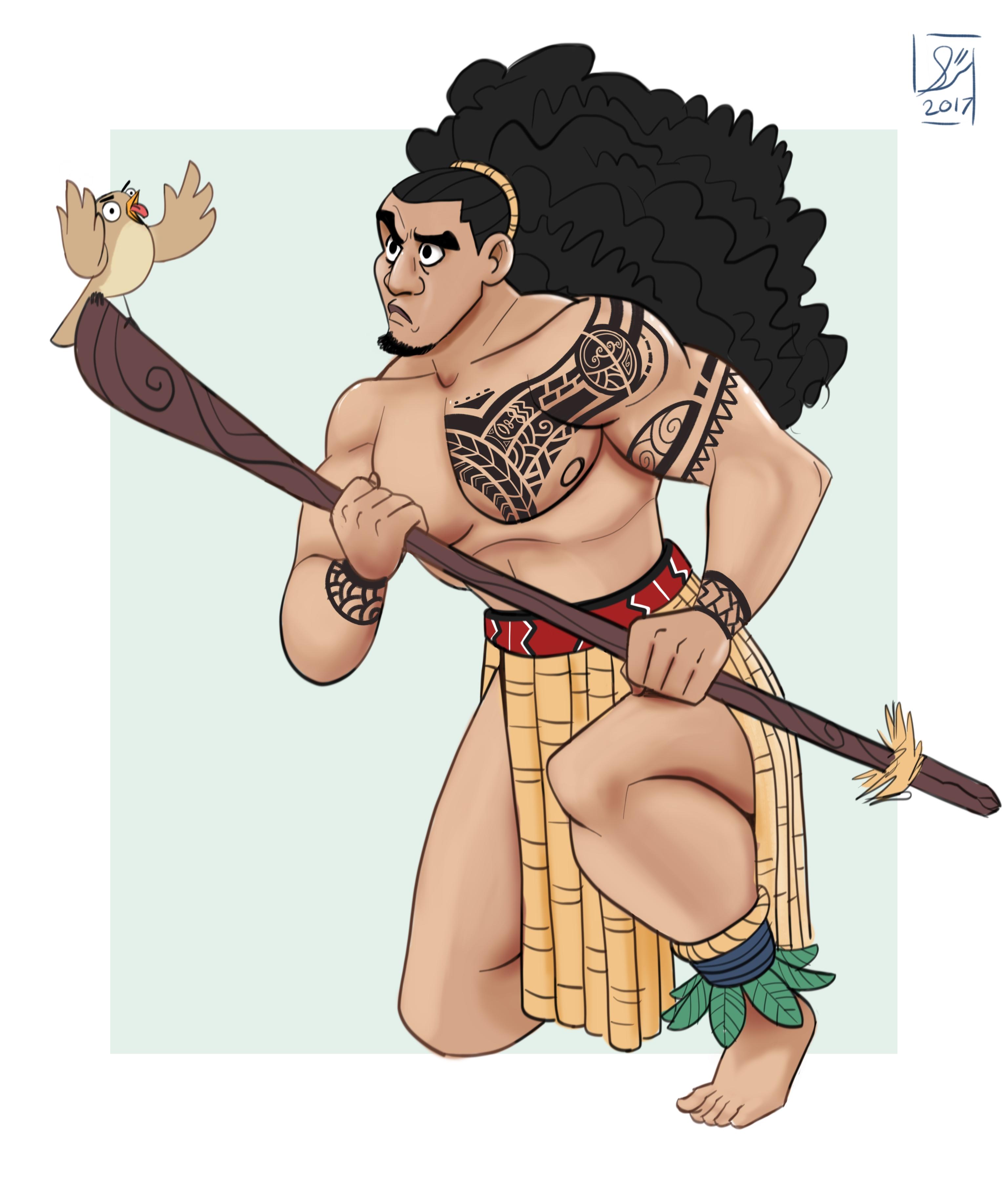 Maori Warrior